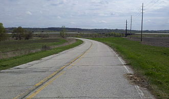 Iowa Highway 5 - Old Iowa 5 dead ends north of the US 65 bypass