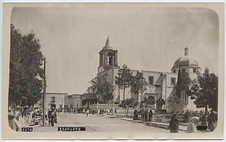 Irapuato - Tercera Orden's Church, circa 1907. Photo courtesy SMU