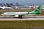 Iraqi Airways, YI-AST, Boeing 737-81Z (19733021173) (2).jpg