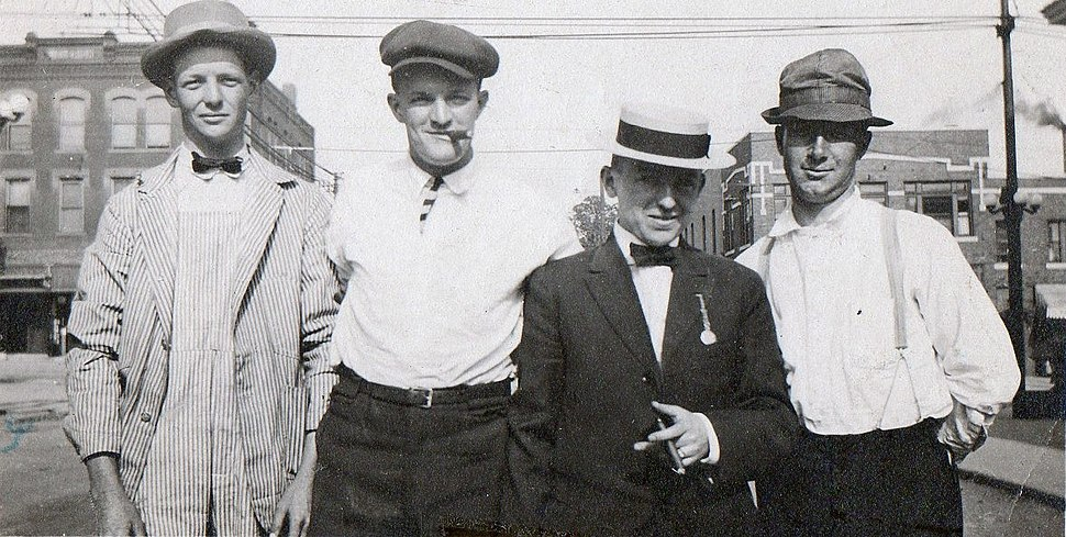 Irish immigrants 1909