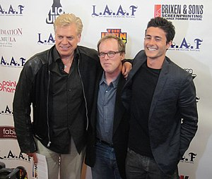 The Iron Giant - Christopher McDonald, Brad Bird and Eli Marienthal in March 2012 at the Iron Giant screening at the LA Animation Festival