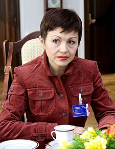 Iryna Kazulina Senate of Poland.JPG