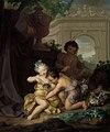 Isaac Walraven - Drie kinderen spelend met een vogelnestje - SK-A-5035 - Rijksmuseum.jpg