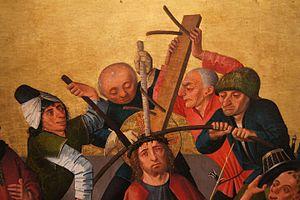 Caspar Isenmann - Image: Isenmann, Colmar Altarpiece (Crowning with Thorns)