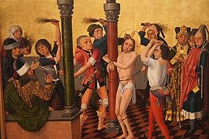Caspar Isenmann - Image: Isenmann, Colmar Altarpiece (Flagellation)