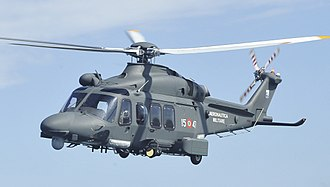 AgustaWestland AW139 - An Italian Air Force HH-139 at Trident Juncture 15