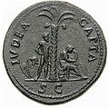 Iudaea capta reverse of Vespasian sestertius.jpg