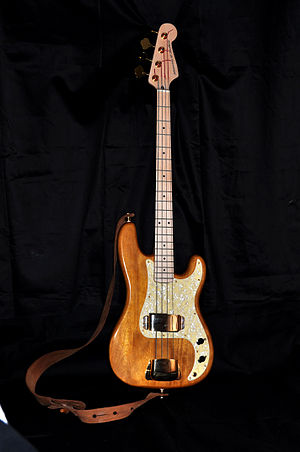 "Bass guitar - Image: J&J Precision Bass ""Roi du Soleil"" (JJ004)"