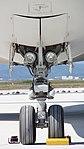 JASDF KC-767(87-3601) nose landing gear front view at Miho Air Base May 28, 2017.jpg