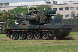 JGSDF Type 87 Self-Propelled Anti-Aircraft Gun 20120429-01.JPG