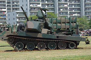 JGSDF Type 87 Self-Propelled Anti-Aircraft Gun 20120429-03.JPG