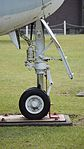 JMSDF S2F-1(4131) nose landing gear right side view at Kanoya Naval Air Base Museum April 29, 2017.jpg