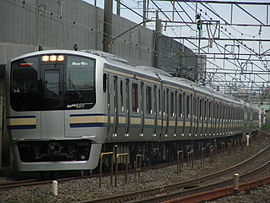 JR East series E217 Yokosuka line color.jpg