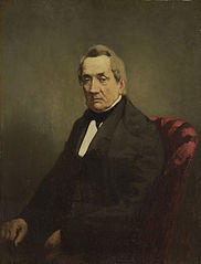 Portrait of J C de Brunett, Consul-General of Russia to Amsterdam