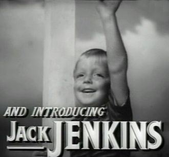 """Jackie """"Butch"""" Jenkins - Screenshot from the trailer for The Human Comedy, 1943"""