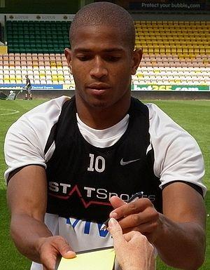 Simeon Jackson - Jackson at Carrow Road in August 2012