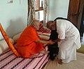 Jagadguru Rambhadracharya with Morari Bapu 02.jpg