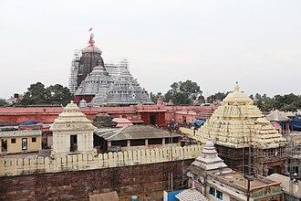 Shakti Peetha - Image: Jagannath Temple, Puri 04