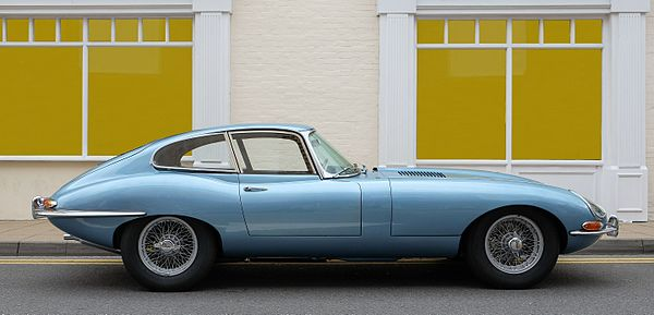 Jaguar E-Type series 1 coupé