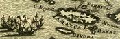 Mapa antiguo de Jamaica