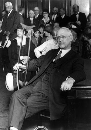 James Cannon Jr. - Cannon during testimony at the U.S. Senate regarding his actions during the 1928 presidential campaign