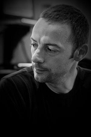 James Flint (novelist) - Flint in 2010