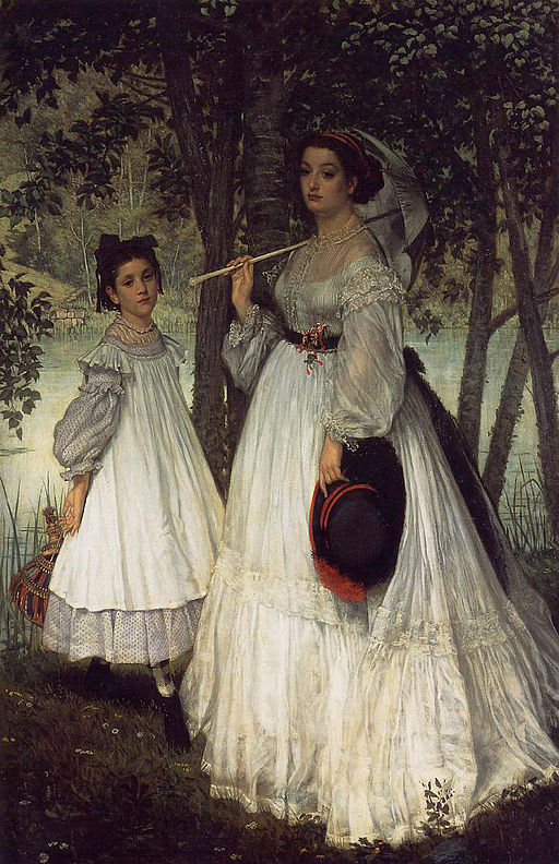 James Tissot - Two Sisters