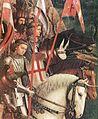 Jan van Eyck - The Ghent Altarpiece - The Soldiers of Christ (detail) - WGA07651.jpg