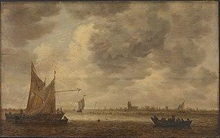 The River Oude Maas near Dordrecht