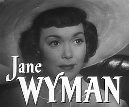 Jane Wyman in Stage Fright (1950)