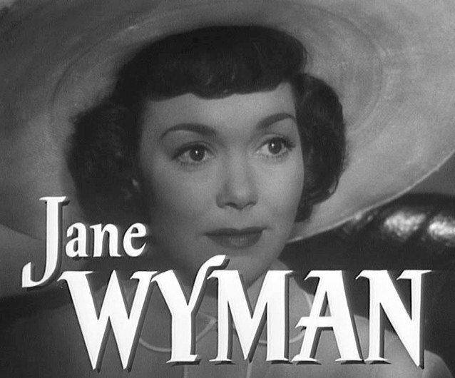 Jane Wyman in Stage Fright trailer