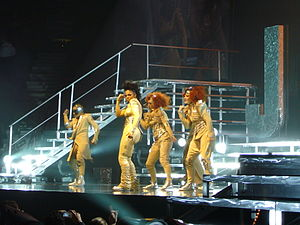 "Control (Janet Jackson album) - Jackson performing a medley of the album's singles, ""The Pleasure Principle"", ""Control"" and ""What Have You Done for Me Lately"", during the Rock Witchu Tour on 2008."