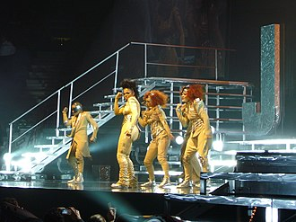 "Control (Janet Jackson album) - Jackson performing a medley of the album's singles, ""The Pleasure Principle"", ""Control"" and ""What Have You Done for Me Lately"", during the Rock Witchu Tour in 2008."