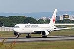 Japan Airlines, B767-300, JA655J (21739249340).jpg