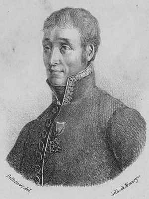 Jean-Marie-Joseph Coutelle - Colonel Coutelle, head of the aérostiers in 1794.
