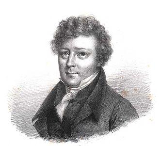 Jean-Antoine Letronne - Jean Antoine Letronne, Lithography by Julien Leopold Boilly, 1796-1874
