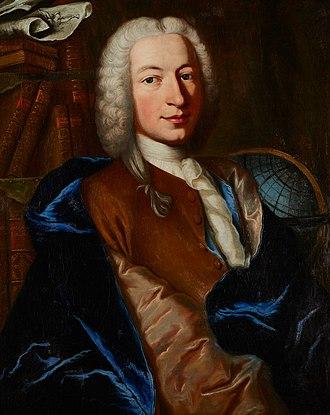 Jean Philippe Loys de Cheseaux - Portrait of Jean-Phillippe de Cheseaux