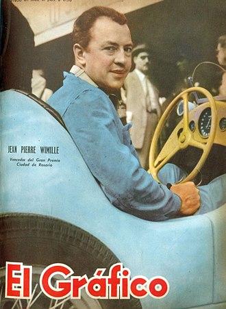 Jean-Pierre Wimille - Jean Pierre Wimille in 1948.