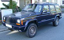 European Passenger Version Cherokee XJ