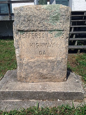 Jefferson Davis Highway - Main Street, Grantville, GA