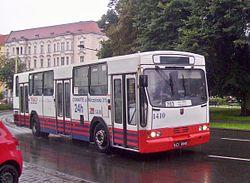 Jelcz 120M nr 1410 in Szczecin