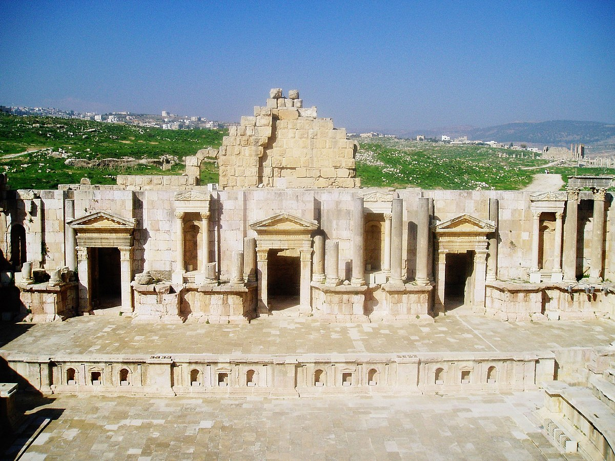 Garshu, Gerasa, Jerash: the Everchanging City of the Ancient World