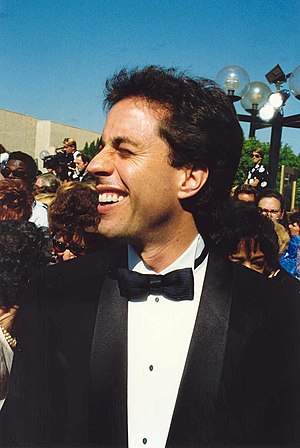 Jerry Seinfeld at the 44th Emmy Awards