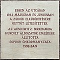 Jewish martyrs plaque Sopron Új28.jpg