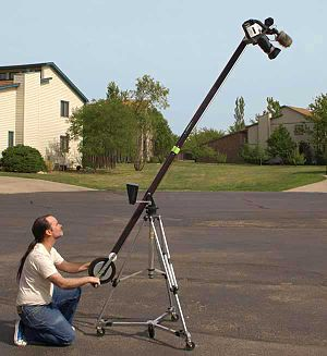 Jib (camera) - Image: Jib up