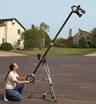 Jib (camera) - Image: Jib up