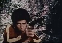 "Jim Kelly från filmen ""Black Samurai"" (1977)"