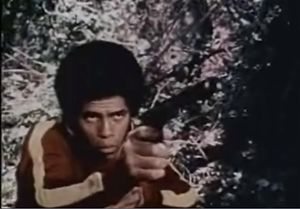 Jim Kelly (martial artist) - Kelly in Black Samurai, 1977.