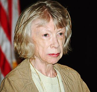Joan Didion - Didion at the 2008 Brooklyn Book Festival