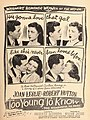 Joan Leslie and Robert Hutton in 'Too Young to Know'.jpg